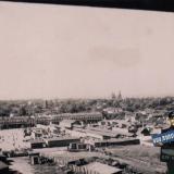 Краснодар. Вид на Сенной рынок с Шуховской башни, август 1942 года