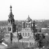 Краснодар. Вид на Троицкую церковь.