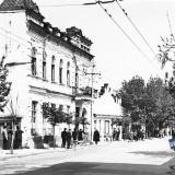 Краснодар. Вид на улицу Мира от перекрёстка с Красной.
