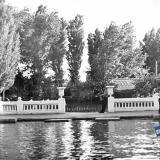 Краснодар. Вид с пруда на лодочный причал в парке им. Горького.