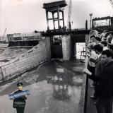 Краснодар. Водосбросное сооружение Краснодарского водохранилища, 17.05.1973 года