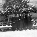 Краснодар. Возле здания КСХИ, 1930-е годы