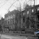Краснодар. Здание Краснодарского мединститута, февраль 1943 года