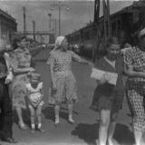 Краснодар. Железнодорожный вокзал, середина 1950-х годов