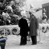 Краснодар. Зима 1977 года на площади им. Октябрьской Революции