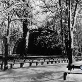 Краснодар. Зимний вид Летней эстрады в городском саду