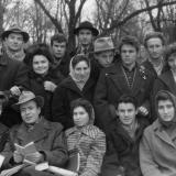 Краснодар. Студенты Пединститута в Первомайском сквере