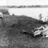На берегу реки Кубань у ст. Пашковской
