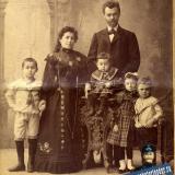Екатеинодар. Леон Ган с семьёй, 1904 год