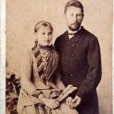 Екатеринодар. Медведевы Елена Георгиевна и Николай Михайлович. Фотограф Чернов