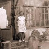 Краснодар. Двор дома по ул.Шаумяна, 85, 1970 год