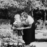 Краснодар. На аллеях горпарка им.Горького, 1960 год.