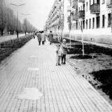 Краснодар. На улице Карла Либкнехта, 1965 год.