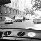 Краснодар. Улица Чапаева, вид в сторону Красной, август 1987 года