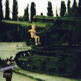 Краснодар. Парк 30-летия Победы. Военная техника. 1994 год