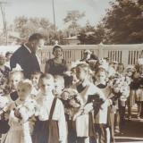 Краснодар. Первый Звонок для первоклашек. Школа №2. 1964 год