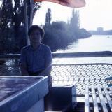 Краснодар. Плавание по оз. Старая кубань на прогулочном теплоходе, 1989 год.