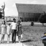 """Краснодар. Поход в кинотеатр """"Аврора"""", около 1974 года"""