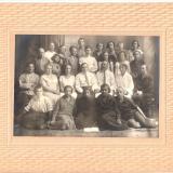Преподаватели и ученики школы № 20 им Ленина Краснодар 12.06.1927 г.