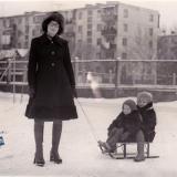 Краснодар. Зима в Краснодаре 1978 года