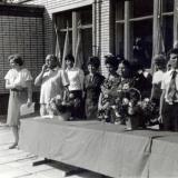 Краснодар. Напутственное слово директора СШ № 32 А.С. Гридина, 1979 год