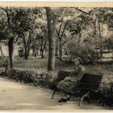 Краснодар. Сквер им. Свердлова, конец 1950-х