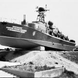 """Темрюк. Мызей военной тихники """"Военная горка"""", около 1986 года"""