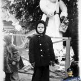 Краснодар. У городской Новогодней ёлки. 1955 год.