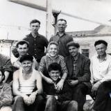Краснодар. Обувная фабрика. Рабочий класс. Май 1963 года