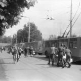 Краснодар. На улице Октябрьской, 9 мая 1991 год.