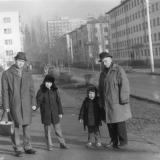 Краснодар. На ул. Шаумяна - от ул Бабушкина до ул.Красных Партизан, 1978 год