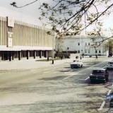 Краснодар. Улица Красная, от ул. Клары Цеткин до ул. Дружбы. Март 1971 года.