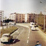 Красная. Улица Красная, перекрёсток с Офицерской. Март 1971 года.