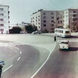 Краснодар. Улица Красная, перекрёсток с ул. Офицерской. Март 1971 года.