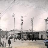 Екатеринодар. Улица Красная, перекрёсток с улицей Гоголя, около 1910 года