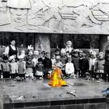 Краснодар. Вечный огонь, 1970 год