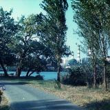 Краснодар. Вид на ТЭЦ из парка Старая Кубань, 1987 год