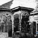 Краснодар. Второй усадебный дом Бурсака на ул. Красноармейской (Бурсаковской), 1950 год.