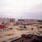 Краснодар. Вид на Юбилейный микрорайон