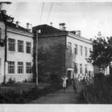Краснодар. Здание СШ № 30, около 1957 года, вид на юго-восток
