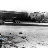 Краснодар. Здание Краснодарского аэропорта, 1981 год