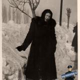 Краснодар. Зима на улице Кубано-Набережной. 1954 год.
