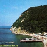 Джанхот. Пляж. 1983 год.