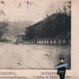 Геленджик. Церковь и гостиница Кордеса, около 1906 года