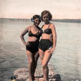 Геленджик. На берегу моря, 1937 год