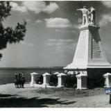 Геленджик. Памятник Красным партизанам, 1960 год