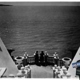 Геленджик.Санаторий № 1-2 ВЦСПС. Спуск к морю. 1954 год.
