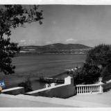 Геленджик. Вид на бухту. 1958 год.