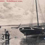 Геленджик. Выброшенное судно, до 1917 года