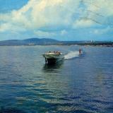 Геленджикская бухта. Фото С. Богдановича, 1986 год